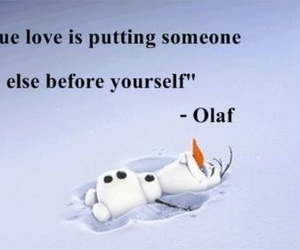 olaf, frozen, and love image