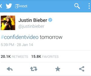 music, justin bieber, and confident video image