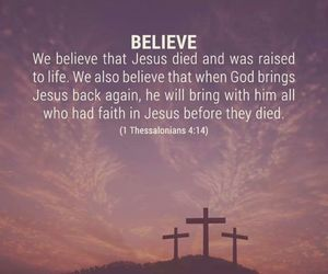 believe, god, and rose image