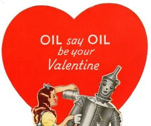heart, valentine, and Wizard of oz image