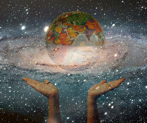 hands and universe image