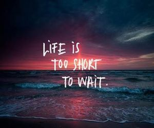 good, life, and short image
