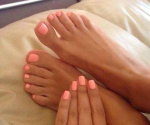 feet, polish, and toes image