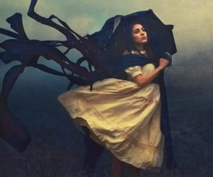 ancient, dark, and girl image