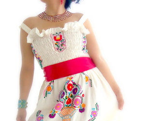 brilliant, dress, and mexican image
