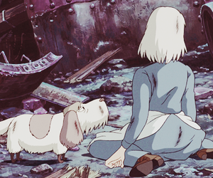 gif, Howl, and howl's moving castle image