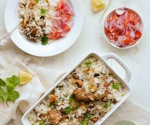 Chicken, indian, and biryani image