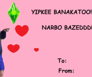 funny, sims, and valentines day image
