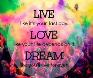 love, colorful, and colors image