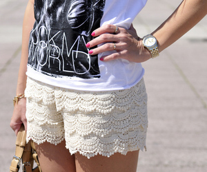 cool, fashion, and lace image