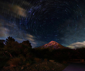 stars, mountains, and photography image