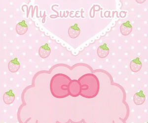 pink, cute, and sanrio image
