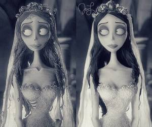 tim burton, corpse bride, and emily image