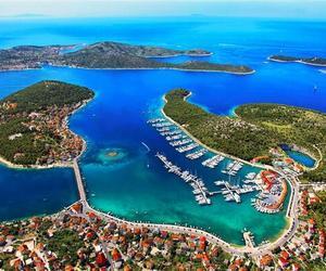 beautiful, blue, and Croatia image