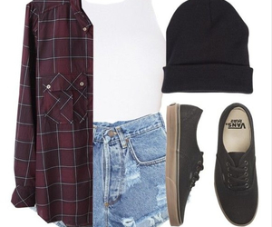 outfit, vans, and style image