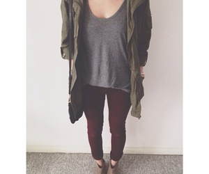 army, outfit, and parka image