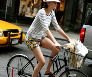 bicycle, fashion, and street style image
