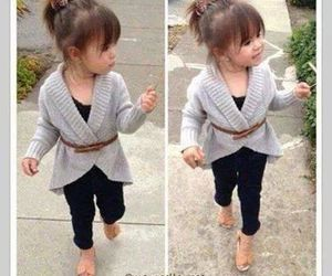 cute, baby, and style image