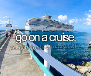 cruise, bucket list, and before i die image