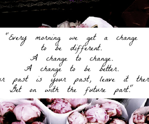 change, word, and second chance image