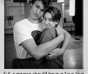 the fault in our stars, love, and quote image