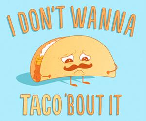 tacos, funny, and sad image