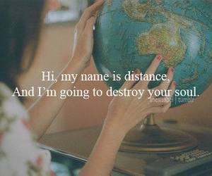 fuck distance and love image