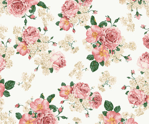 floral, flower, and pretty image