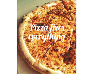 amazing, pizza, and food image