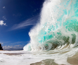 sunshine, wave, and water image