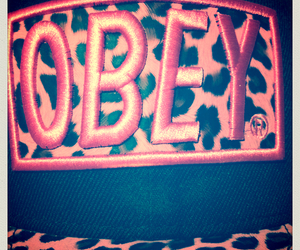 cappello, obey, and leopardato image