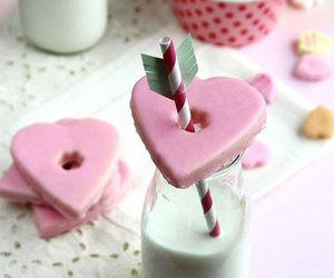 arrow, pink, and Cookies image