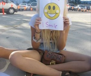 smile, girl, and happy image