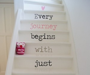 stairs, journey, and step image