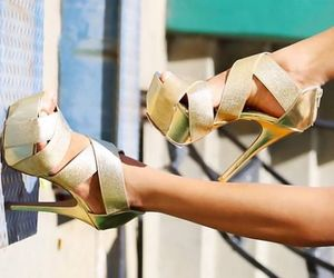 golden, heel, and summer image