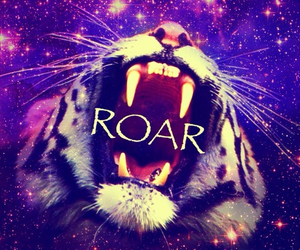 animal, art, and roar image