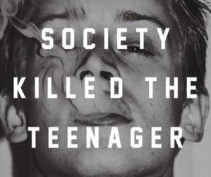 society, teenager, and smoke image
