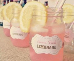 pink, lemonade, and drink image