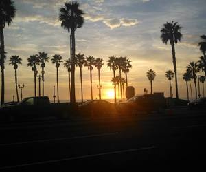 beach, california, and cool image