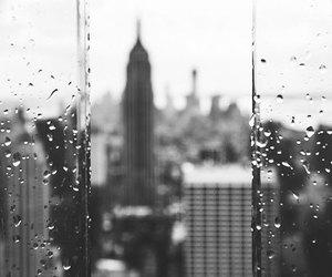 rain, city, and new york image