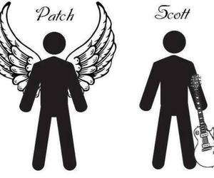 patch, scott, and hush hush image