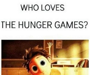 katniss, love, and hunger games image