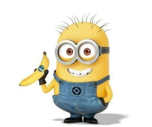 minions, banana, and greek image