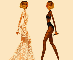beyoncé, grammys, and drawing image
