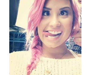 demi lovato and pink image