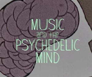music, psychedelic, and mind image