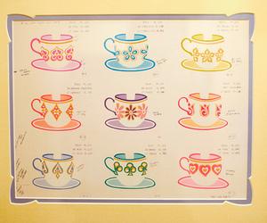alice in wonderland, disney, and mad hatter tea cups image