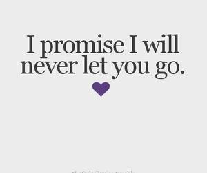 love, promise, and quote image