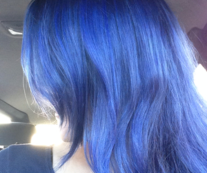 blue, blueberry, and hair image