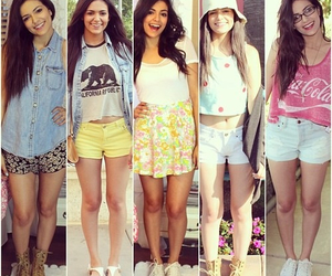 bethany mota, outfit, and summer image